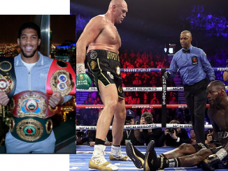 , Anthony Joshua Blasts Deontay Wilder Over his Excuses for Defeat