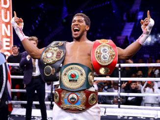 , Anthony Joshua Denied Reports He Wasn't Allowed To Represent Nigeria